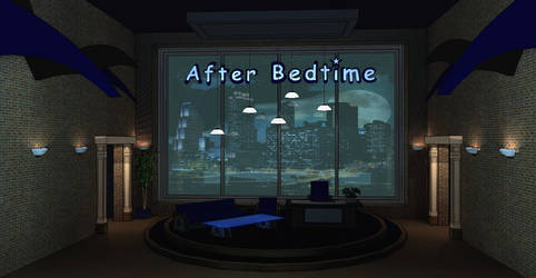 After Bedtime Talk Show Set