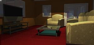 Piedmont House Living Room