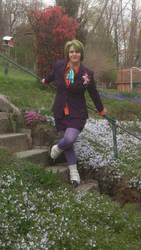 Joking around in the Garden by EmeraldTokyo