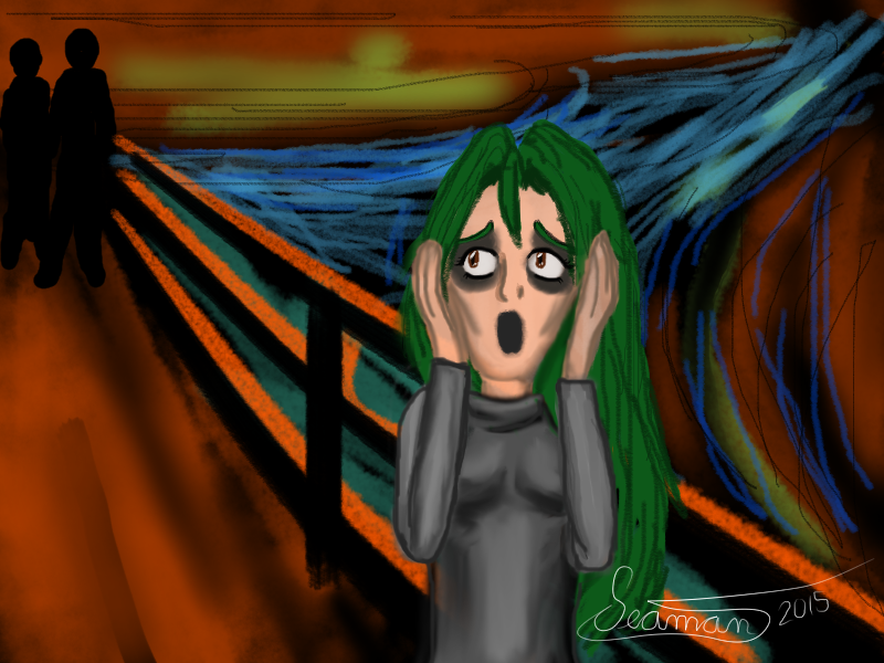 The Scream by EmeraldTokyo