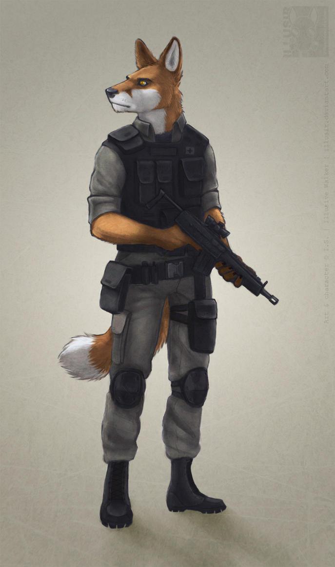 Medic fox by Illusir