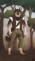Werewolf Mercenary by Illusir