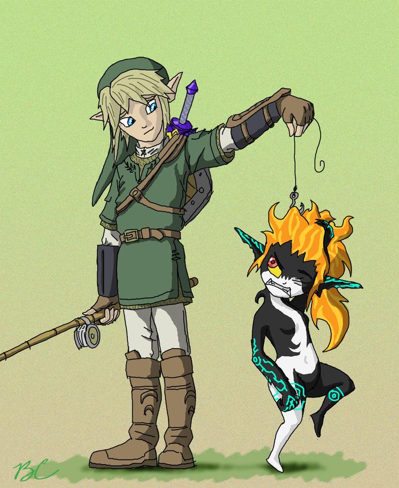 Link's Catch of the Day final by FiercerDeity