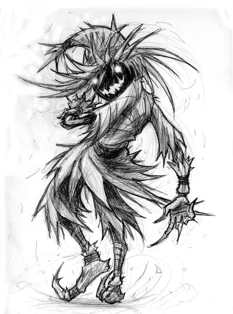 Skull Kid Drawing