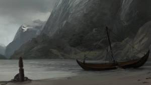 Blarlandi Fjord Speedpainting