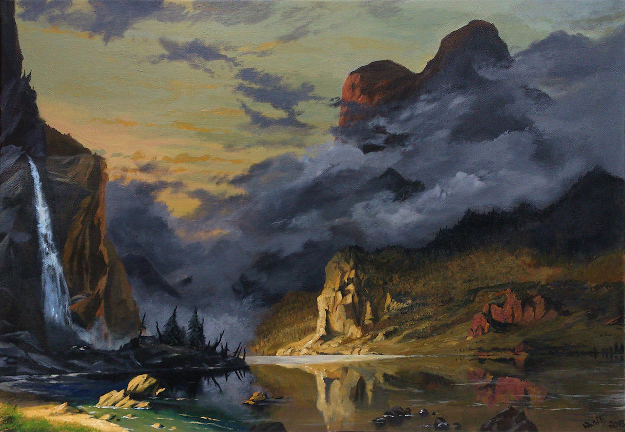 The Sunset Mists by SoldatNordsken