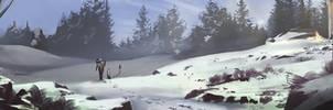 White Forest Speedpainting