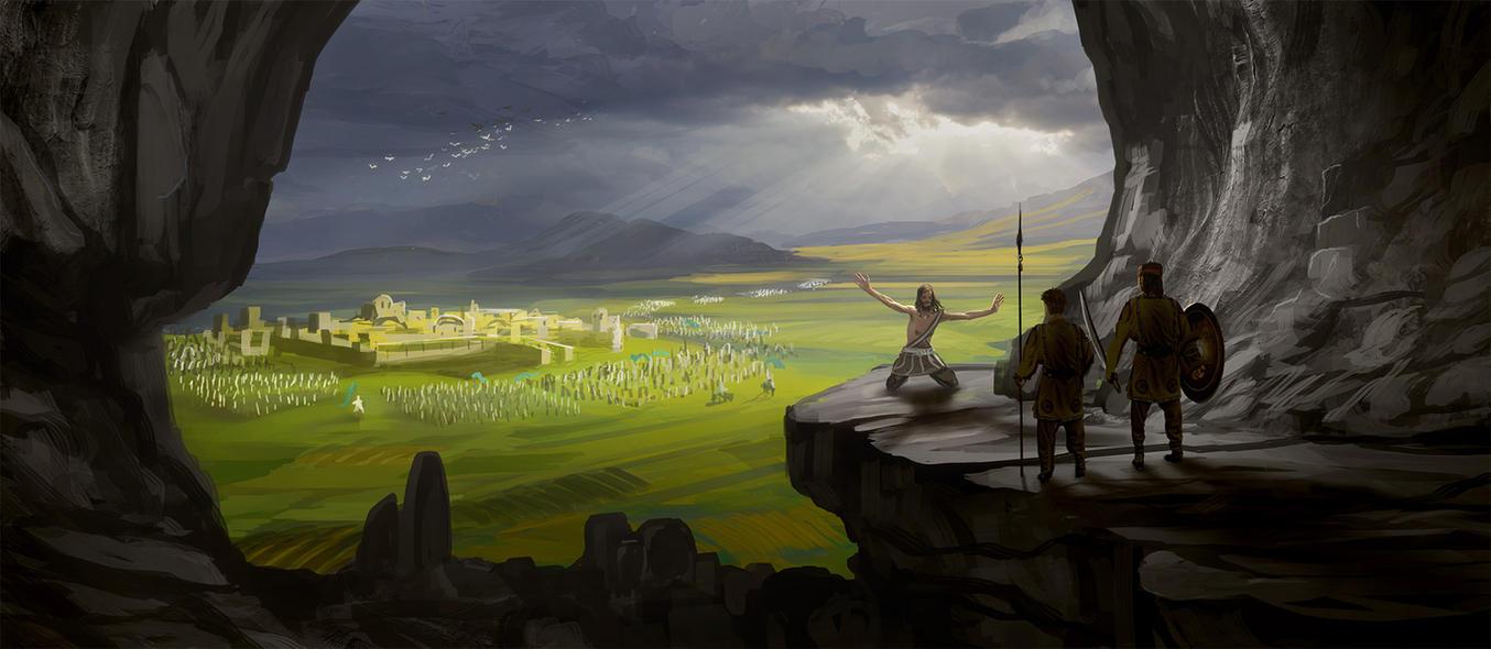 Siege of Keilah by SoldatNordsken