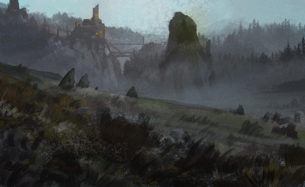 Medieval Troll by SoldatNordsken