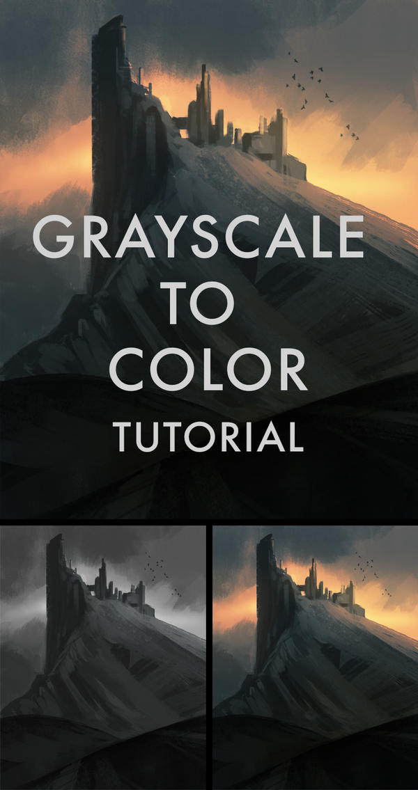 Grayscale To Color Tutorial by SoldatNordsken