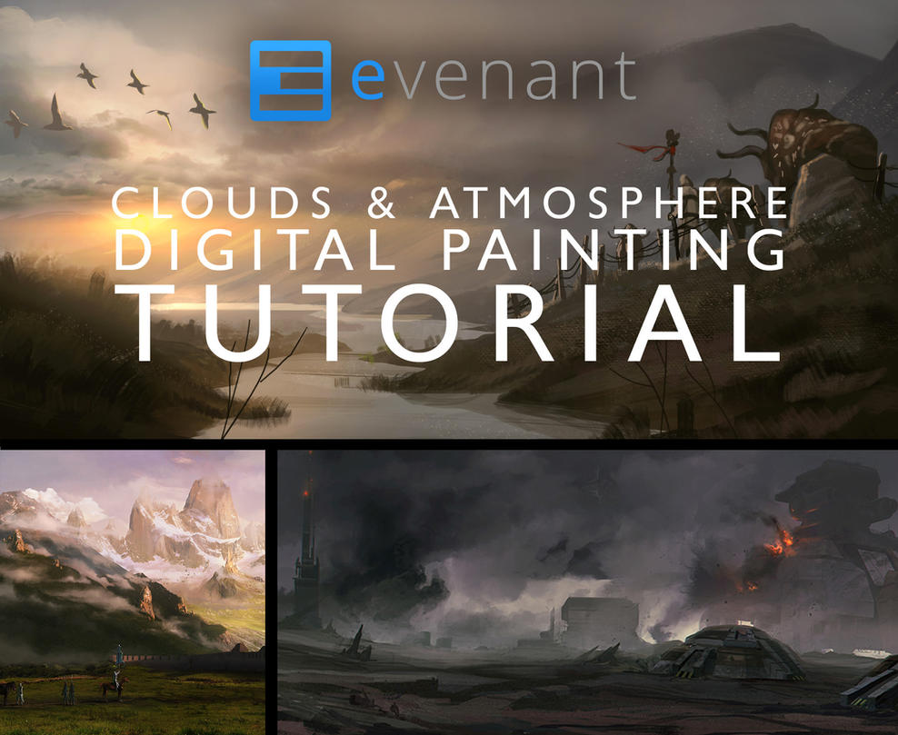Painting clouds and atmosphere tutorial by soldatnordsken on painting clouds and atmosphere tutorial by soldatnordsken baditri Images