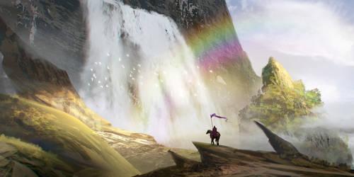 At The Stream Of Light - Painting Walkthrough