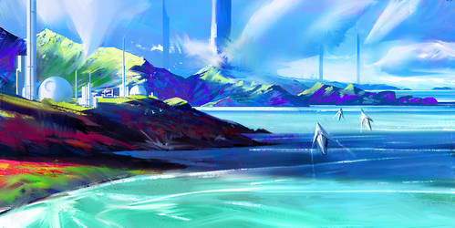 Soaring Over Color Land