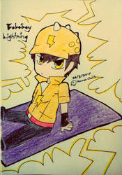 Boboiboy Galaxy Lightning Card By Hannah Chan1 On Deviantart