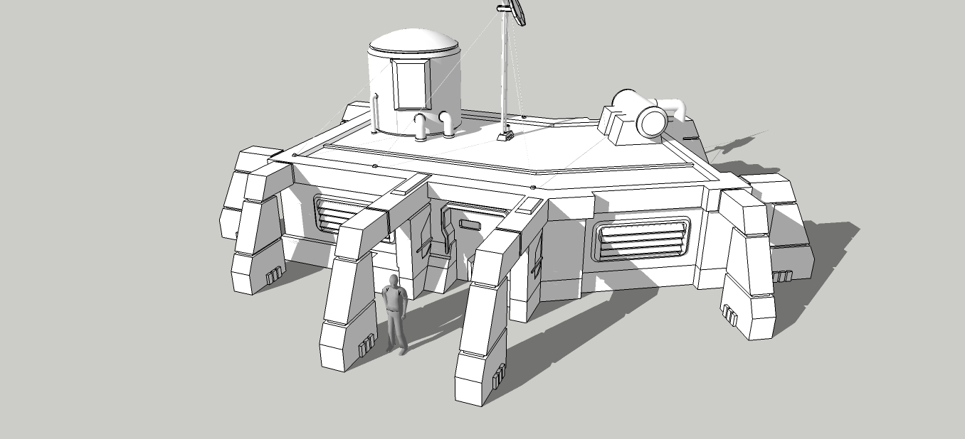 Space Colony Housing Concept by spyderrock48 on DeviantArt