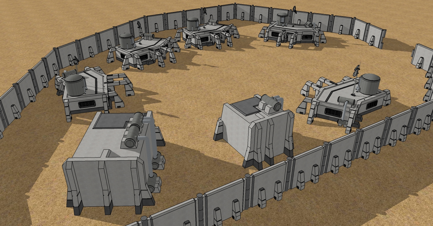 Space Colony Outpost Concept by spyderrock48 on DeviantArt