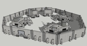 Space Colony Outpost Concept 2