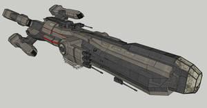 Combat Ship Armed