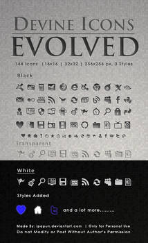 Devine Icons Evolved