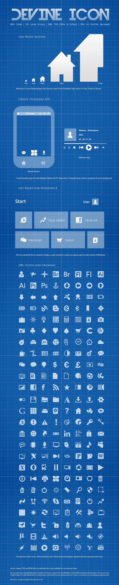 Devine Icons Updated by ipapun