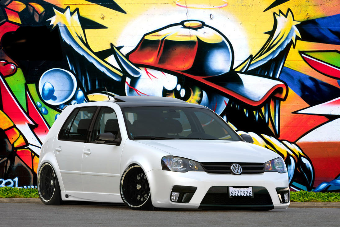 VW Golf by fabiolima-designer