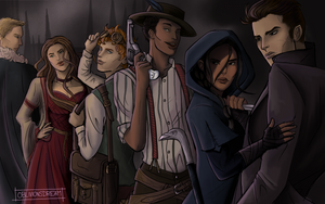 Six of Crows/ Crooked Kingdom by OblivionsDream