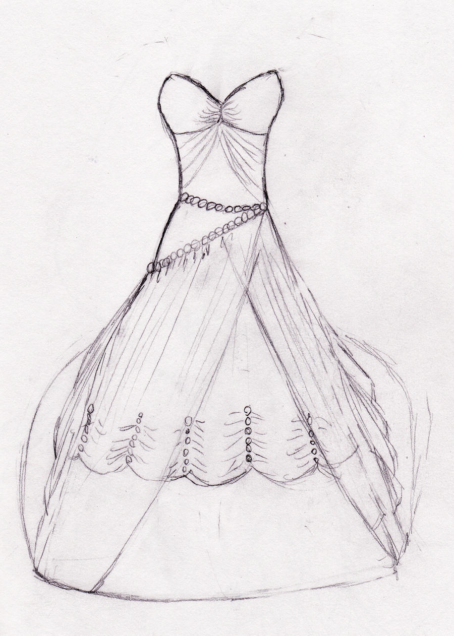 How to draw wedding dresses wedding rings for women for How to draw a wedding dress