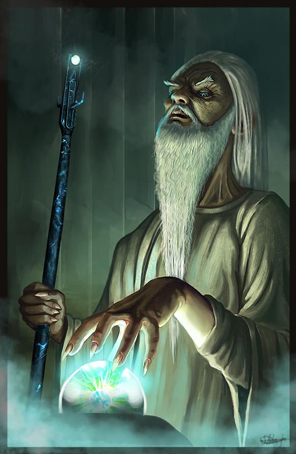 Saruman. by Suzanne-Helmigh