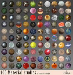 Material studies.