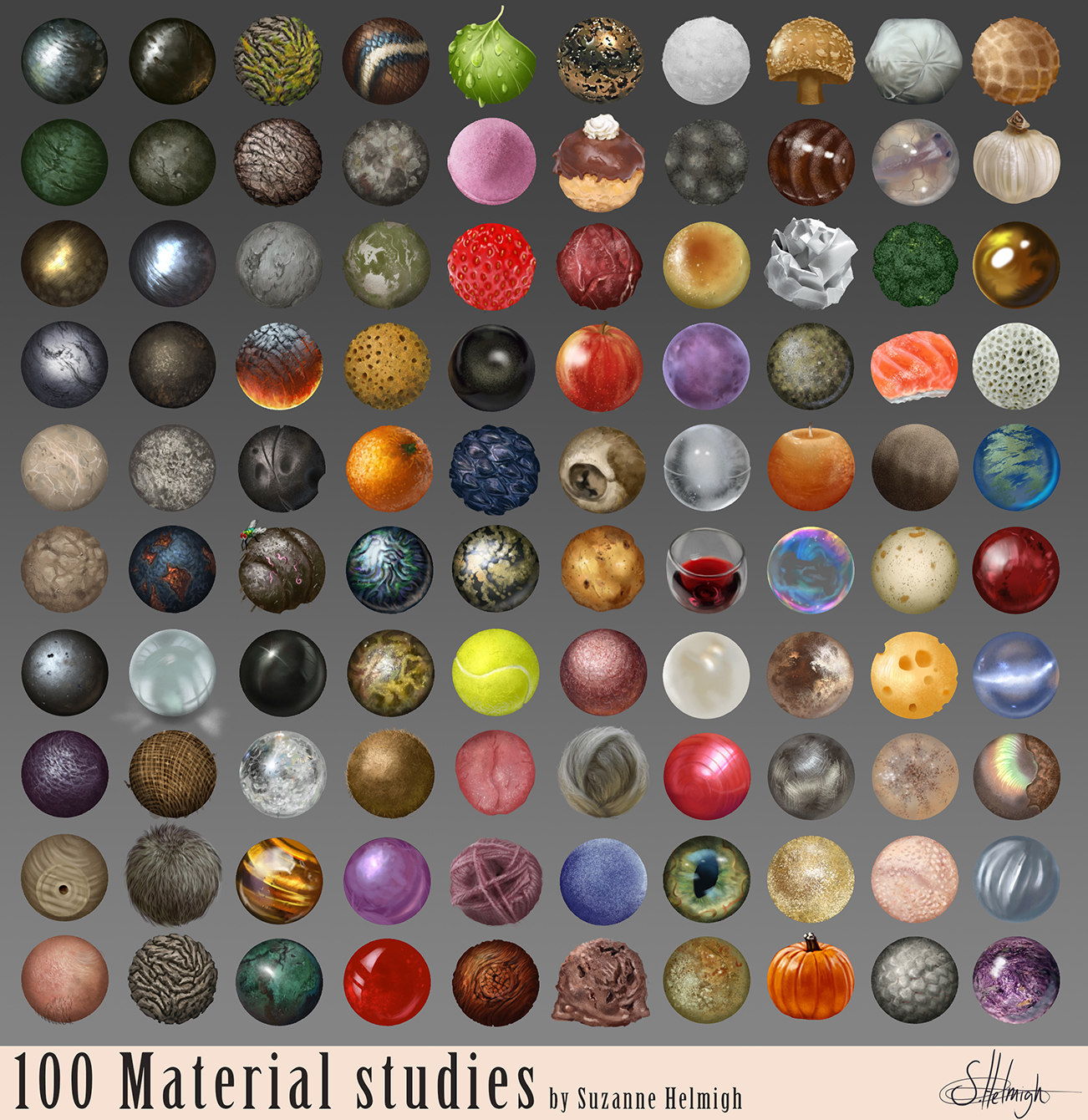 Material studies. by Suzanne-Helmigh