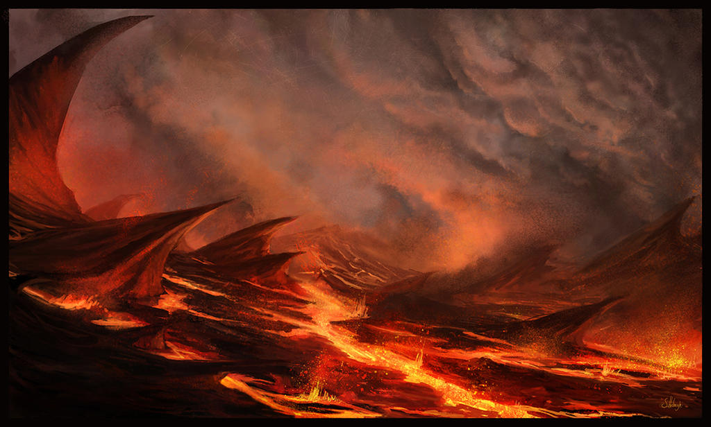 When wrath took the land. by Suzanne-Helmigh