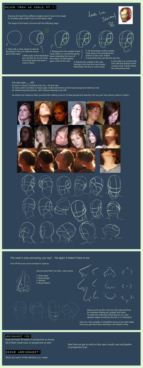 Head's from an angle pt 1 tutorial. by Suzanne-Helmigh