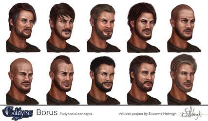 Borus portrait Lineup