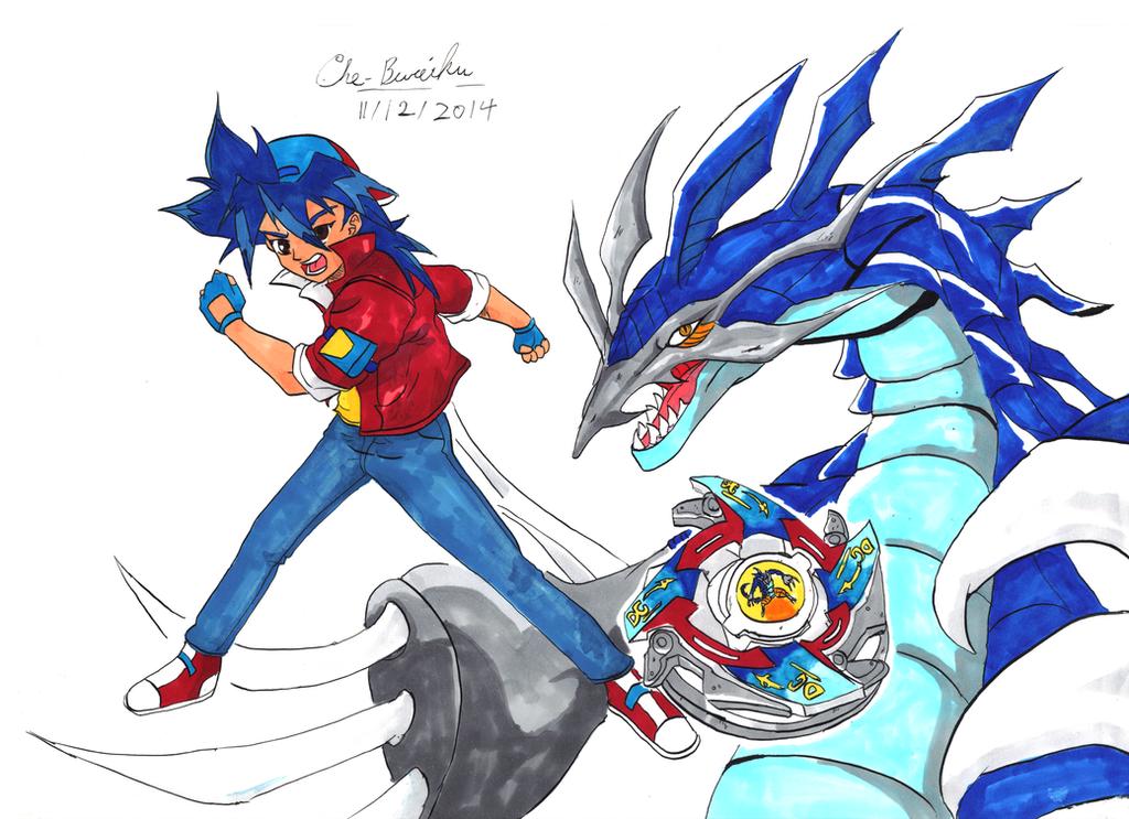 Takao(Tyson)-and-Dragoon-full-color by Che-Bureiku