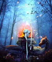 The Dragon Legend by adrianoampb