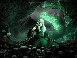 Sorceress Death v2 by adrianoampb