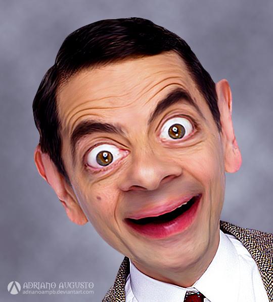 Caricature - Mr. Bean by adrianoampb
