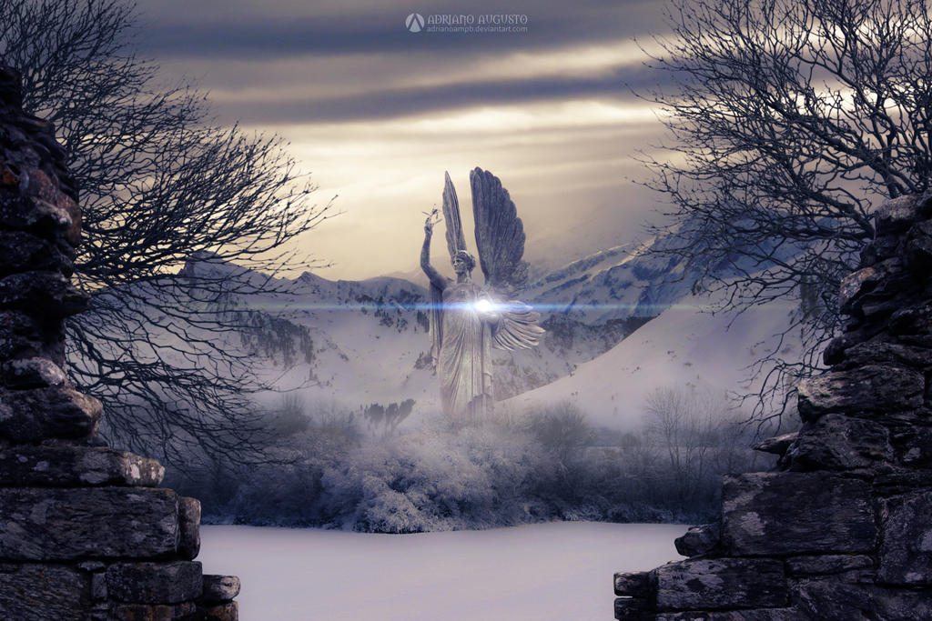 Winter's Monument by adrianoampb