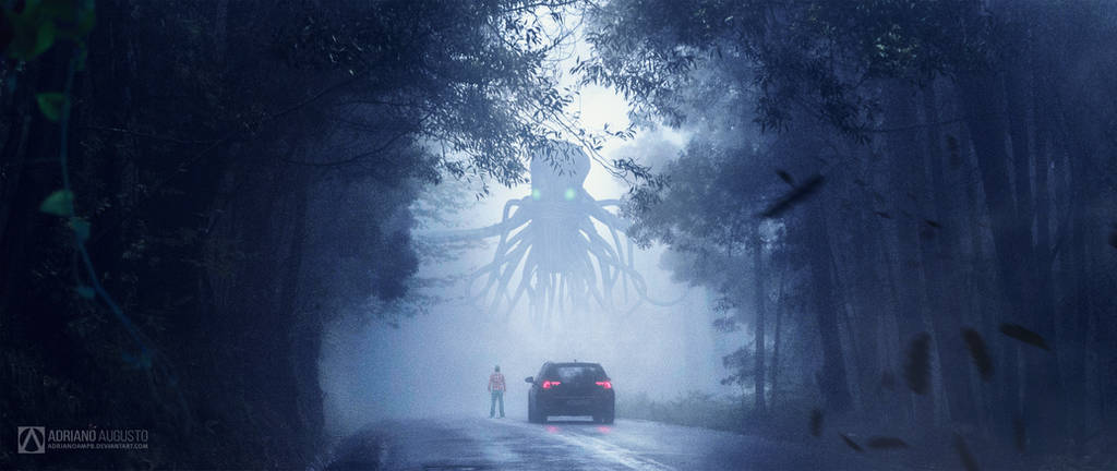 Stranger Things - The Road is Closed by adrianoampb