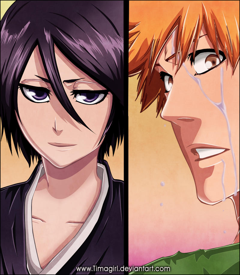 Rukia Ichigo chapter 459 by Timagirl on DeviantArt