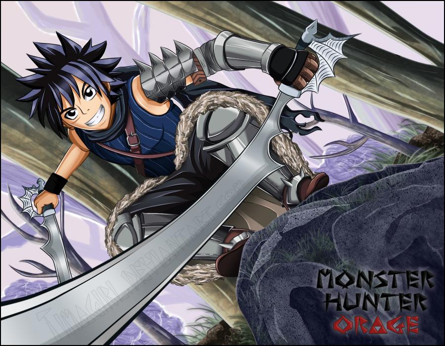 Shiki Monster Hunter Orage By Timagirl On Deviantart