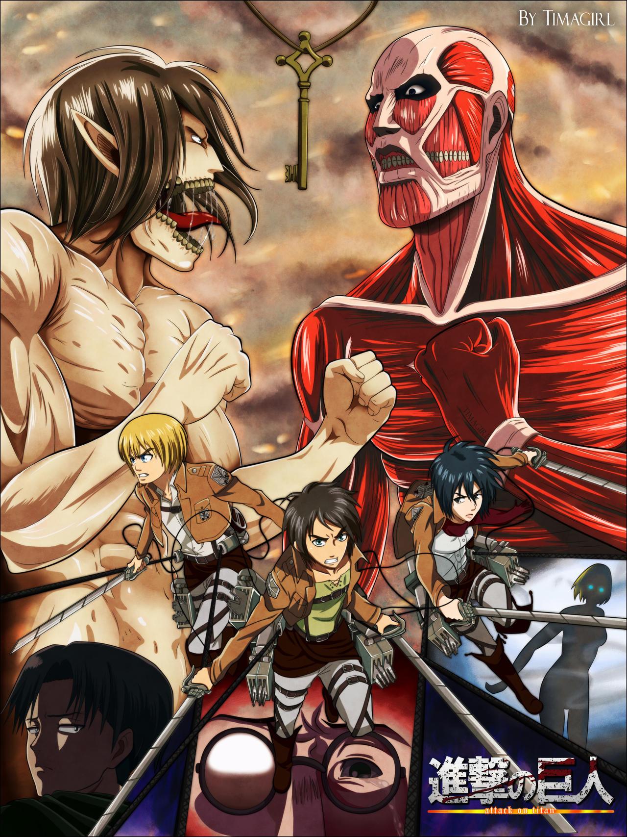 Shingeki no Kyojin - MAX Poster by Timagirl