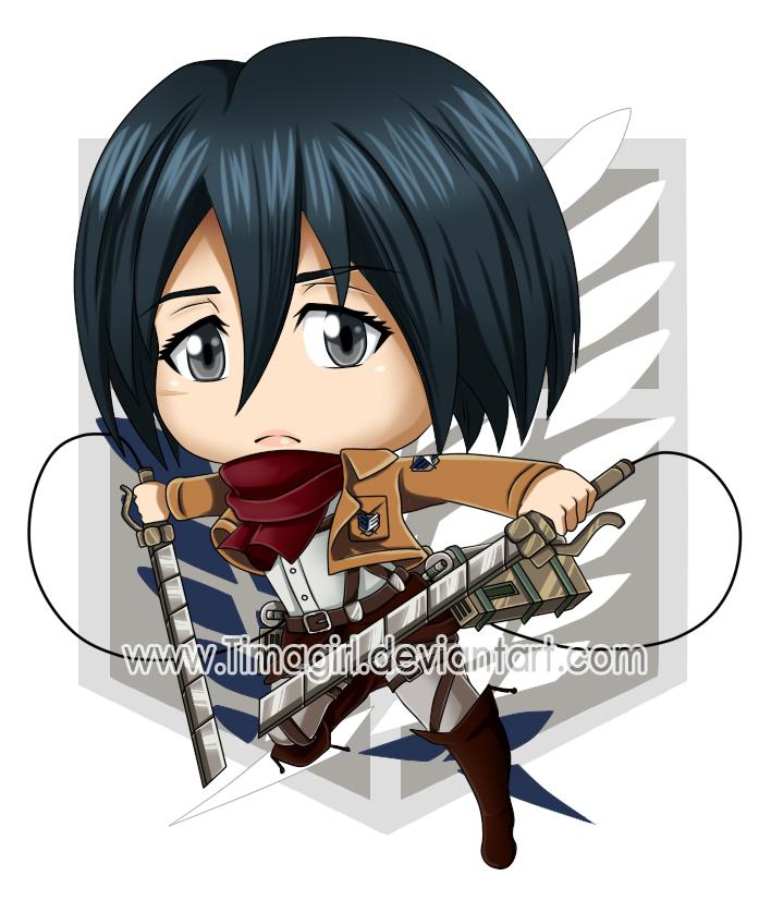 Mikasa ackerman snk by timagirl on deviantart - Mikasa es su casa ...