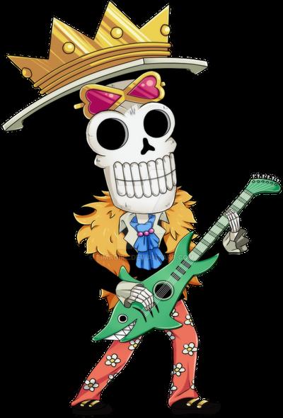 One Piece Chibi Brook Varied Series by Timag...