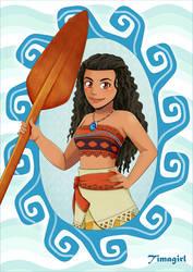 Vaiana - Moana Disney by Timagirl
