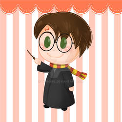 Harry Potter Chibi - Howgarts