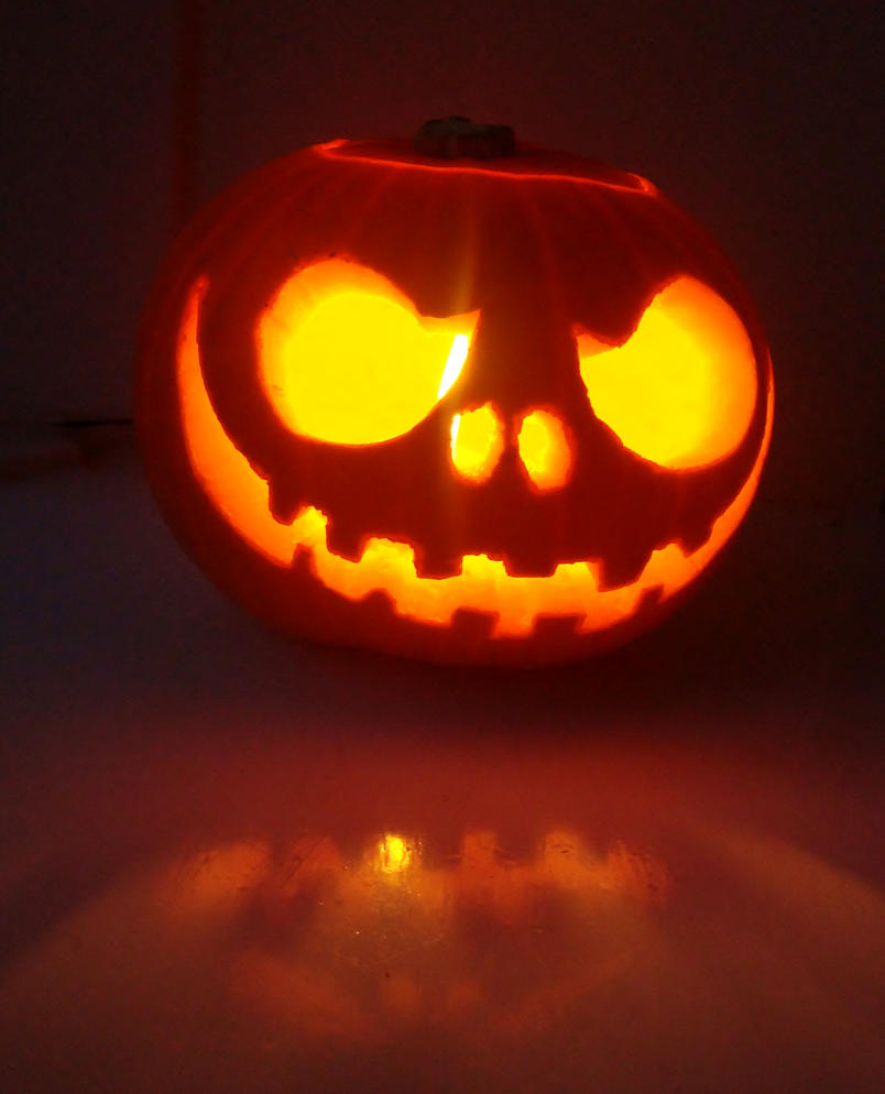 Jack the pumpkin king carving car interior design