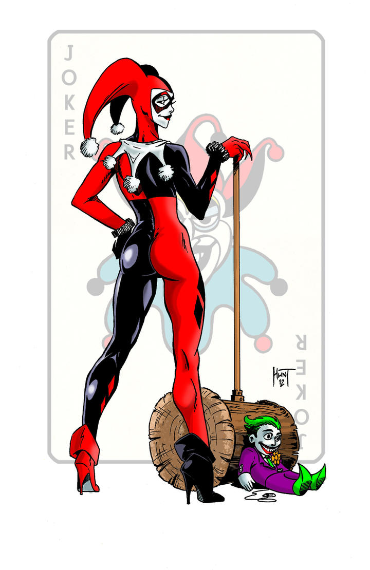 Harley Quinn Colored by KenHunt