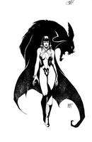 Vampirella Inkwell Awards by KenHunt