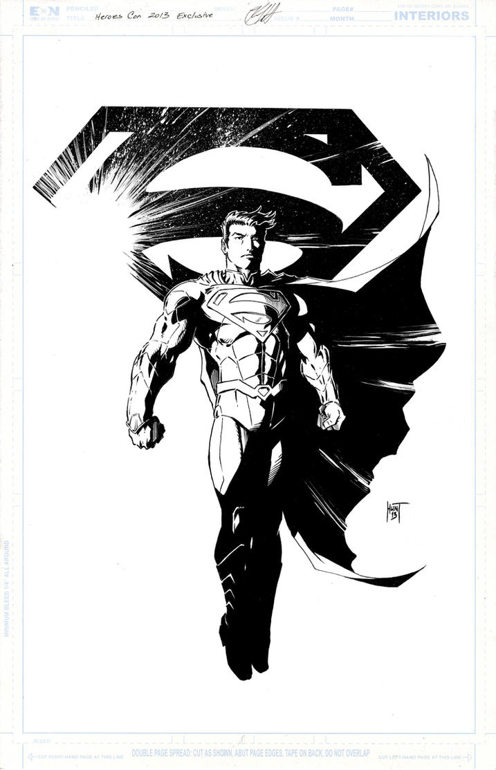 Superman Heroes Con 2013 Exclusive By KenHunt On DeviantArt